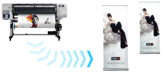 Roll-up, Roll-up banner, roll-up display, cea mai larga gama de sistem expozitionale rollup.